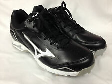 Mizuno 9 Spike Advanced Classic 7 Black White 320431Mens Baseball Metal Cleats