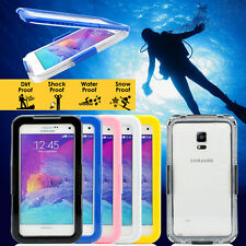 Waterproof Shockproof Dust Proof Case Cover Skin For Samsung Galaxy Note 4 SM910