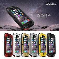 "New Waterproof Aluminum Gorilla Metal Case Cover For i Phone 6 4.7"" plus 5.5''"