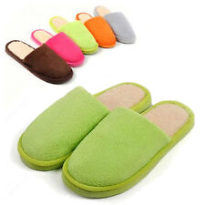 New Women Men Soft Warm Lovers Anti slip Indoor House Home Shoes warm Slippers