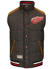 "Detroit Red Wings NHL G-III ""Legacy"" Reversible Puffer Vest Jacket"