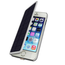 2800mAh Solar Power Charger Case External Battery Backup  For iPhone 6