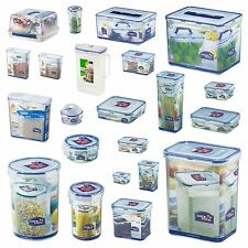 Lock and & Lock Plastic Storage Containers Box Cake Cereal Bacon Sandwich Food