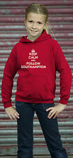 Children's unisex Keep Calm and Follow Southampton football Hoodie