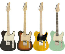 Beginner Telecaster Style Electric Guitar Pack Vintage Colors Right/Left Handed