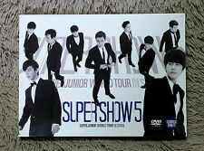 Super Junior - World Tour In Seoul [SUPER SHOW 5] (2DVD+Special ColorPhotoBook)