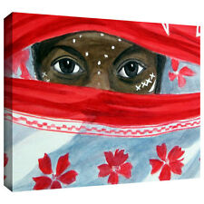 Lindsey Janich 'Arab Girl' Gallery-Wrapped Canvas