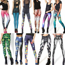 2014 3D Printed Galaxy Women Leggings Stretchy Jeggings Tight Pencil Pants GYM