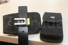 Nylon Belt Clip Holster Case Pouch BELT LOOP FIT WITH BIG COMMUTER CASE ON