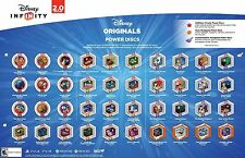 DISNEY INFINITY 2.0 DISNEY ORIGINALS POWER DISC YOU CHOOSE TO COMPLETE YOUR SET