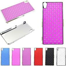 Bling Crystal Hard Skins Phone Accessories Back Covers Case For Sony Xperia Z2