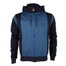 Mens Fila Pirlo Peacoat Hooded Track Top