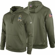Dallas Cowboys Nike 2014 Salute To Service KO Performance Hooide - Olive