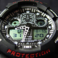 ♦ MULTI-FUNCTION LED LIGHT SHOCK PROOF MENS SPORTS WATCH 7 COLOURS AVAIL ♦ NEW ♦