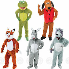 DELUXE ADULT ANIMAL ONESIE FANCY DRESS OUTFIT MASCOT COSTUME MENS/WOMENS NOVELTY