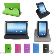 """Rotary Leather Case Cover+Gift For 7"""" HP Stream 7 5701 Windows 8.1 Tablet GB1HW"""