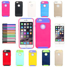 PC Shockproof Dirt Dust Proof Hard Cover Case For iPhone 6 4.7 inch           E4