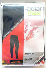 NEW POLARMAX TECHNICAL BASE LAYER MID-WEIGHT PANTS- WOMENS BLACK - XS,SM,XL