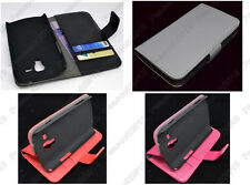 Multi Leather Cover Flip Case HOLDER WALLET For Samsung Galaxy Trend Duos S7562