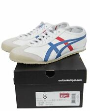 "Asics Onitsuka Tiger Mexico 66 ""Tokyo"" White/Blue/Red DL408-0146 USA"