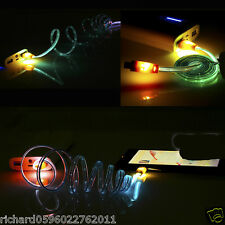 Flash Light 1m Data Charging Sync Cable for Android Samsung Galaxy Note 3 S5