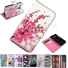 Book Wallet Stand Flip Leather Skin Phone Case Cover For Motorola Google Moto G