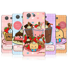 HEAD CASE DESIGNS KAWAII CAKES AND SHAKES CASE FOR SONY XPERIA Z3 COMPACT D5803