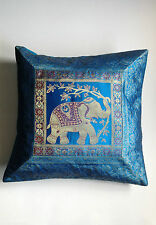Indian Cusion Covers Elephant Squares Taj Mahal Flower patterns Gift Present