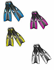 OceanPro Escape Scuba Diving or Snorkeling Fins Open Heel All Sizes + Colors