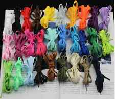 FLAT Athletic 27 36 45 50 54 Inch Sneaker SHOELACE Many Colors! shoe lace string