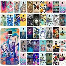 Cool Pattern Painted Back Case Cover Protector Fit For Samsung Galaxy S4 S5