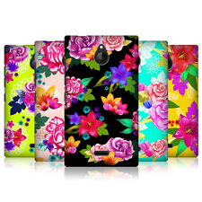 HEAD CASE DESIGNS PAINTED FLOWERS CASE COVER FOR NOKIA X2 DUAL SIM