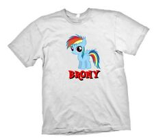 My Little Pony Friendship is Magic Brony filly shirt personalized Rainbow Dash