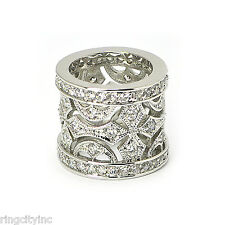 SALE CZ in Rhodium Ring FREE SHIPPING
