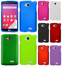 For LG Verizon Transpyre Rubberized HARD Protector Case Phone Cover Accessory