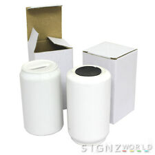 White Sublimation MONEY BOX Ceramic With Gift Box For Mug Heat Press Transfer