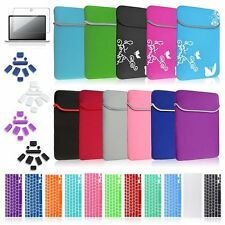 "Sleeve Case Cover Matte Film Keyboard Skin Bundle For Macbook Pro 13.3 13"" A1278"