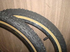 20 x1.75 +2.125 Black Comp III 3 skinwall BMX tires pair by CST