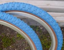 20 x1.75 +2.125 Blue Comp III 3 skinwall BMX tires pair by CST