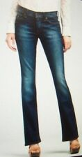 new Lucky Brand STARK Sweet N Low dark wash ankle jeans mid rise sz 14 short