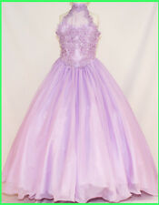 New Girl Lilac dress size 5 6 7 National Pageant Formal Recital Easter Party