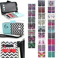 Samsung Galaxy Prevail LTE / Core Prime PU Leather Wallet Pouch Case Flip Cover