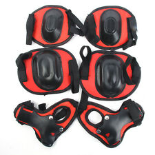Adjustable Skateboard Knee Elbow Protective Gear Guard Pads One Set 6pcs New C89