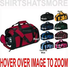 Gym Bag Duffel Workout Sport Travel Carry On Duffel 9 Colors NEW! (079)