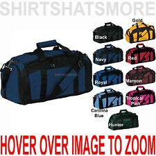 Gym Bag Duffel Workout Sport Athletic Gear Travel Carry On Duffel NEW! (079)