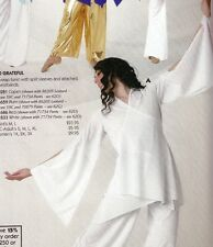 NWT Praise Dance Liturgical bell sleeve wrap top White Ladies sizes 85070