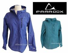 WOMENS PARADOX RAIN JACKET, Lightweight Hooded, NEW, Opened packages