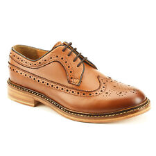 Harrytech London ( HT 7022 ) Mens Long Wings brogue Goodyear welted Leathersole