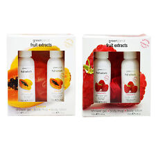 Greenland Natural Fruit Extracts Gift Set (100ml Shower Gel & 100ml Body Lotion)
