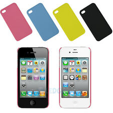 New Hard PC Back Cover Case Skin Protector for iPhone 4 4S Colors